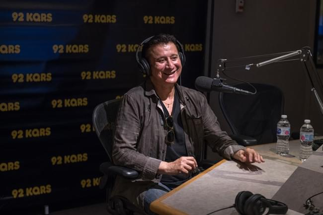 """My purposeful meaning is doing something I swore I'd never do, and I did it..."" - Steve Perry on recording again and releasing his first album in over two decades.  Photo credit: RKH Images"
