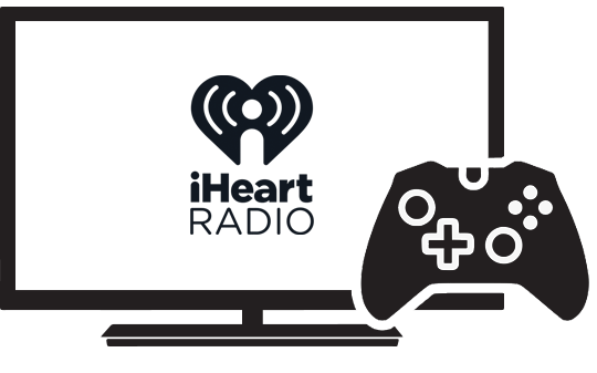 iHeartRadio App for TV & Gaming Console