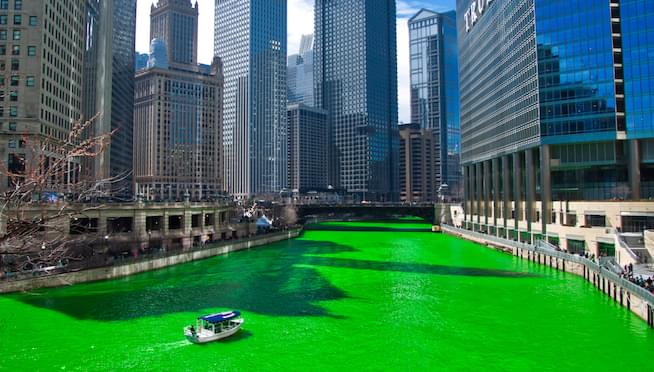 The History and Mystery of Dyeing the Chicago River Green