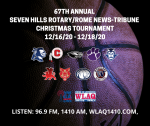 THE 2020 CHRISTMAS TOURNAMENT IS UNDERWAY!