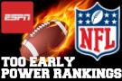 TOO EARLY NFL Power Rankings: Dirty Birds Top Ten?