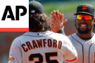 Giants Hold On In the 9th To Sweep Braves