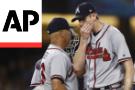 Dodgers' Buehler Injured , But LA Beats Braves 7-3