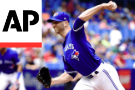Happ Pitches 8 1/3 Innings As Blue Jays Beat Braves 5-4
