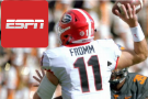Georgia QB Jake Fromm Breaks Non-Throwing Hand, Won't Miss Time