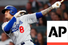 Machado Hits First Dodgers Homer In 8-2 Rout of Braves