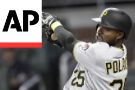 Polanco Snaps Tie In Eighth As Pirates Beat Braves 3-2