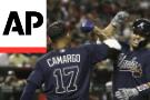 Braves beat Diamondbacks 7-6 on wild pitch in 10th inning