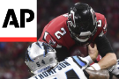Falcons survive to beat Panthers 31-24 in NFC South thriller