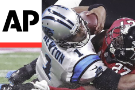 Atlanta safety Damontae Kazee docked $10,026 for his hit on Carolina QB Cam Newton