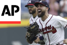Braves clinch 1st NL East crown since 2013, top Phillies 5-3