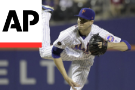 DeGrom makes pitch for Cy Young, Mets blank Braves 3-0