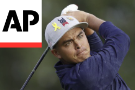 The Latest: US gets 1st Ryder Cup point on the board