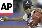 Teheran sharp in playoff audition, but Braves fall to Mets 4-1