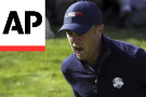 Europe extends Ryder Cup lead to 8-4 behind 'Moliwood'
