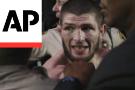 Melee at UFC 229 after Nurmagomedov chokes out McGregor