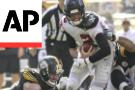 Brown scores twice, Steelers roll past reeling Atlanta 41-17