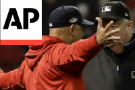 Sale, Cora make early exits as Red Sox lose ALCS opener 7-2 to Houston