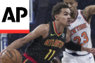 Knicks overwhelm Young, Hawks 126-107 in Fizdale's debut