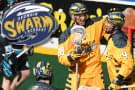 Swarm sweep Knighthawks; clinch fourth-straight trip to the postseason