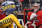 Swarm win streak snapped in tough loss to Roughnecks, 14-13