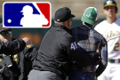 Tossed! Umpire flings fan who runs on field in Jays-A's game