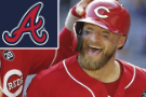 Barnhart's 3-run homer off Greene lifts Reds over Braves 6-4