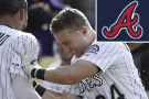 McMahon's 2-run homer lifts Rockies past Braves, 3-1