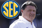 LSU's Orgeron eager to see how defense emerges from off week