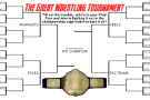 Nick Cellini's Top 32 Wrestling Bracket!