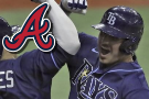 Rays strike out 19 Braves in 14-5 romp, Renfroe homers twice