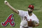 Arrieta tosses 6 scoreless in Phillies' 5-0 win over Braves