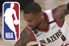 Blazers say Lillard leaving bubble for tests on injured knee