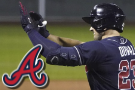 Duvall follows Ozuna with 3 HRs; Braves complete sweep