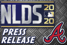 Braves Announce Roster For 2020 NLDS