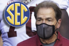 Saban still asymptomatic, but sidelined for Alabama-Georgia