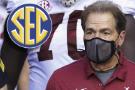 #1 Alabama-LSU, #5 Texas A&M-Tennessee postponed