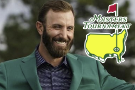 Dustin Johnson paints a by-the-numbers Masters-piece