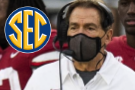 Tide's Saban tests positive for virus, will miss Iron Bowl