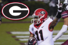 No. 13 Georgia runs all over South Carolina in 45-16 victory