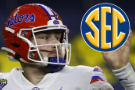 Florida QB Trask officially turns pro after record season