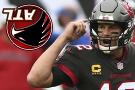 Brady throws for 4 TDs, Bucs smash Falcons 44-27