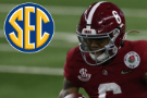 Alabama's Smith could set new standard for Heisman receivers