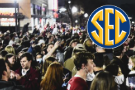 Despite virus, thousands party in streets after 'bama win