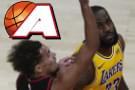 James jaws with Atlanta fans, leads Lakers past Hawks 107-99