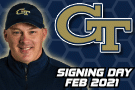 GA Tech Coach Collins on Signing Day Feb. 2021
