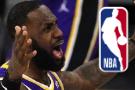 LeBron warned for flopping; NBA also warns teammate Kuzma