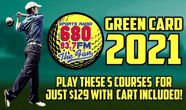 680 the fan golf green card