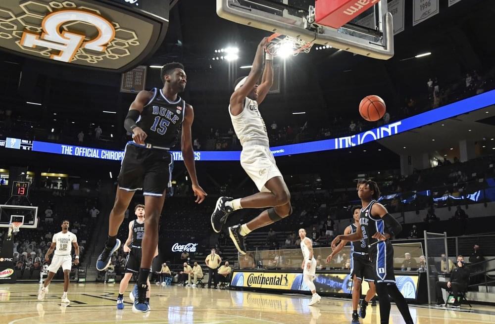 georgia tech basketball, moses wright, duke