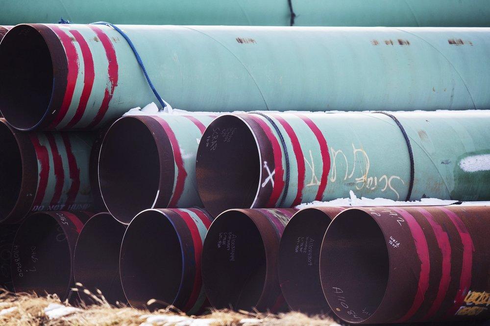 pipes in storage keystone